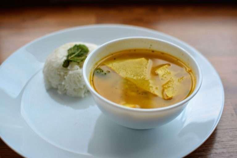 chhon kwa serve with rice