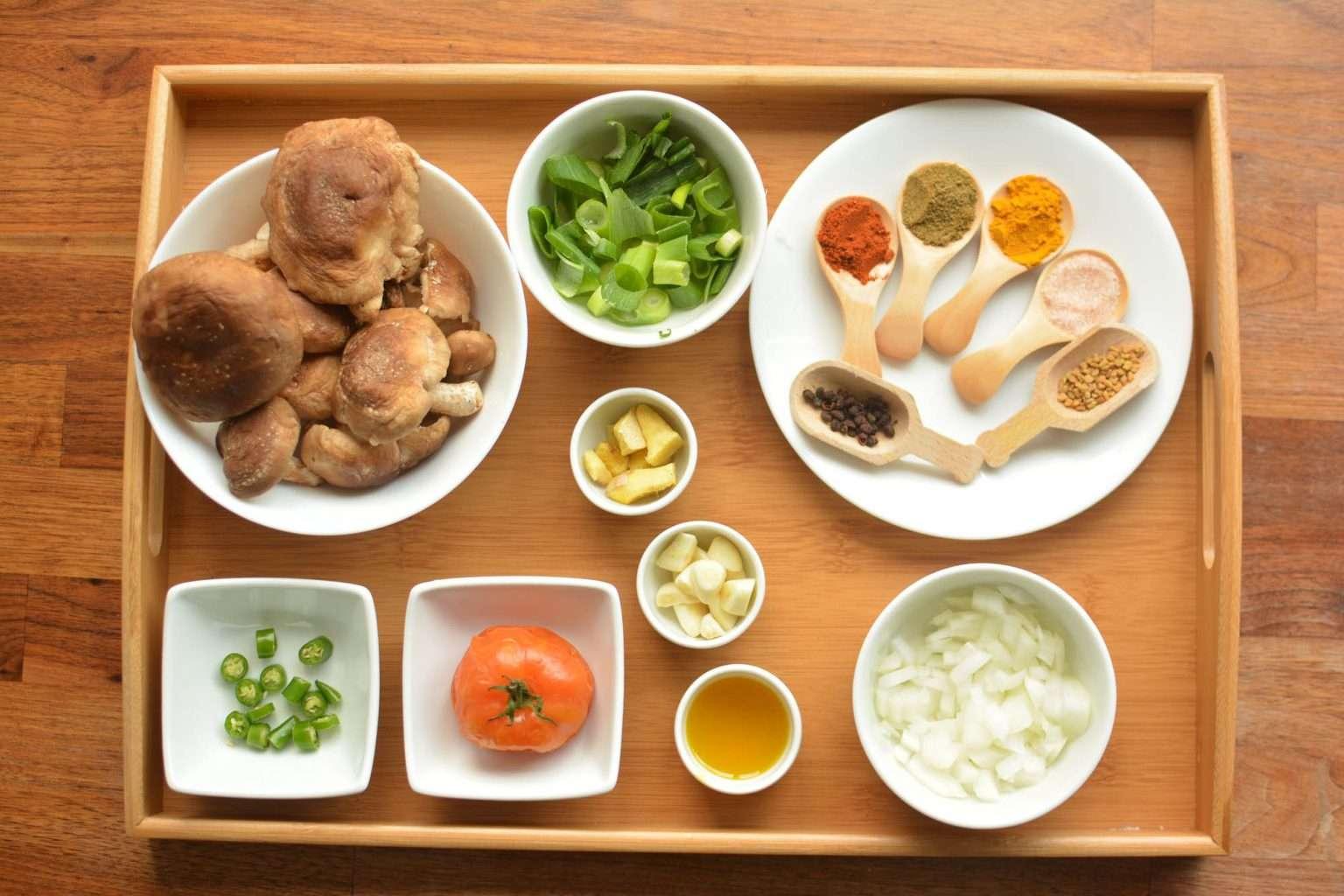 mushroom choila ingredients